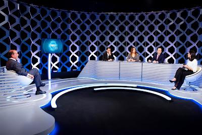 Aloysio, Duda, Isabel, Marcelo e Débora (Crédito: Gabriel Cardoso/SBT)