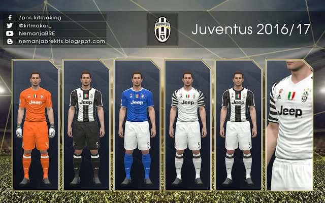 PES 2017 Juventus 2016 17 GDB Kits d4dc1b722