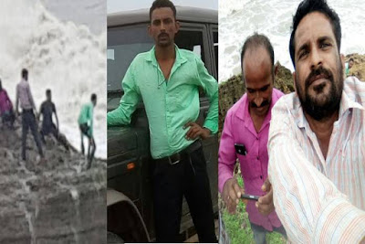 चूरू जिले के रहने वाले तीन युवाओं की दीव के समुद्र में डूबने से मौत