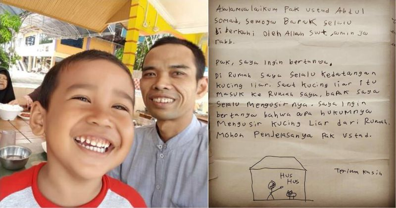 Anak Kecil Bertanya Kepada Ustadz Abdul Somad