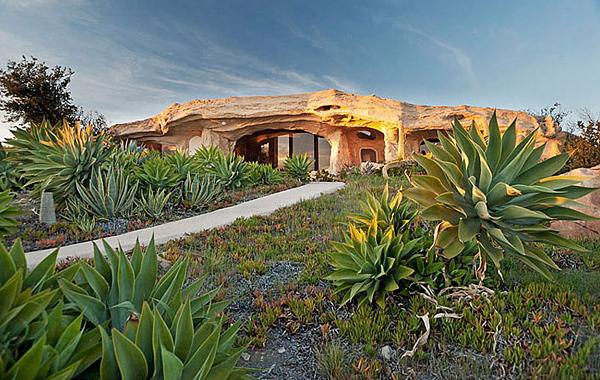 Dick Clark's Malibu 'Flintstones' Home