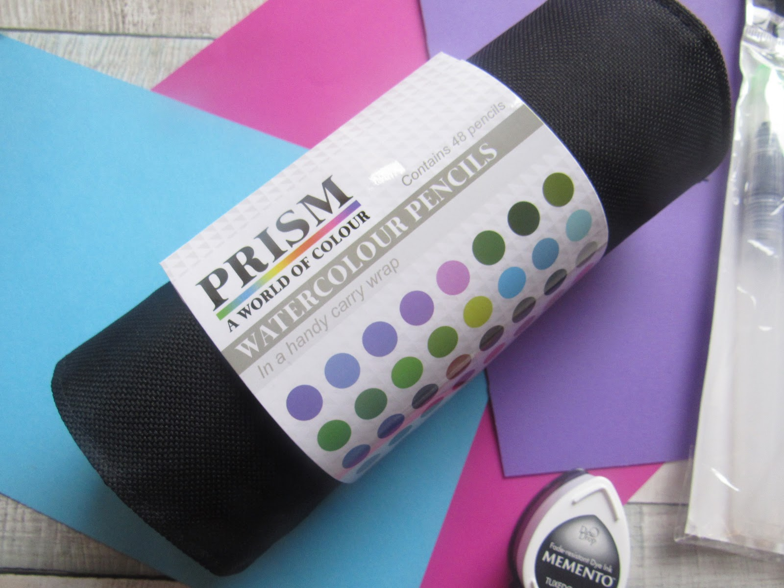Hunkydory Prism Watercolour pencil roll