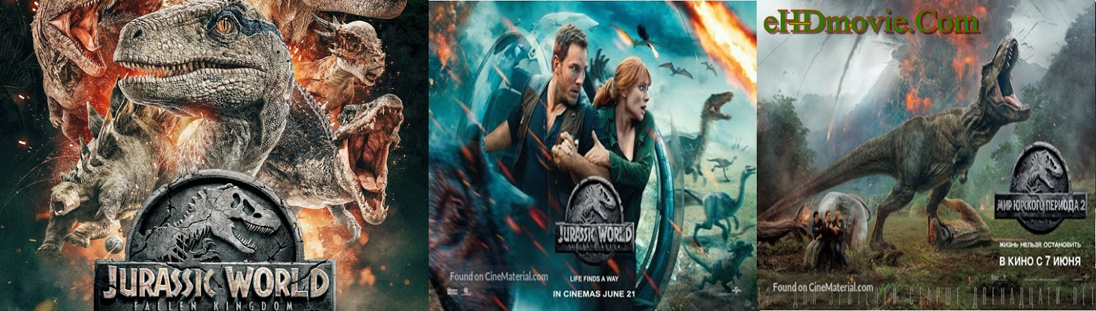 Jurassic World Fallen Kingdom 2018 Full Movie Dual Audio [Hindi – English] 1080p - 720p - HEVC - 480p ORG WEB-DL 400MB - 650MB - 1GB - 2GB ESubs Free Download