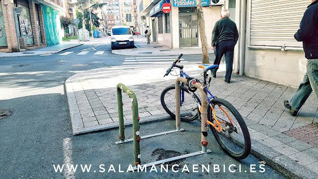 salamancaenbici.es aparcabicis barrio del oeste