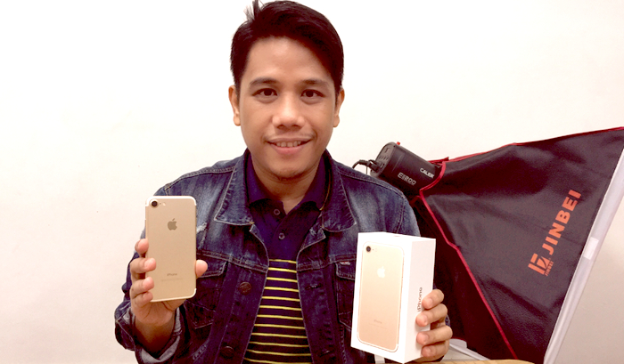 Apple iPhone 7 Philippines, Mark Milan Macanas