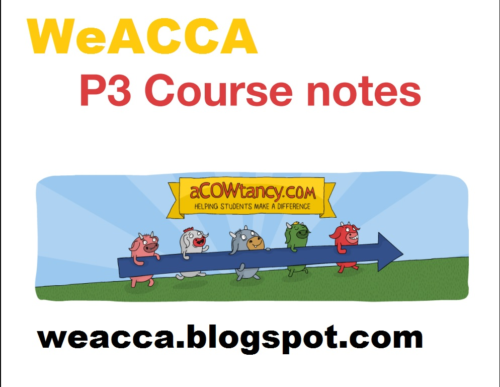 acca p3 revision notes Buy acca p3 business analysis: practice and revision kit by bpp learning  media (isbn: 9781472711090) from amazon's book store everyday low prices.