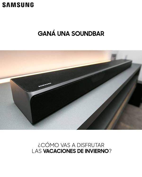 Gana una Soundbar