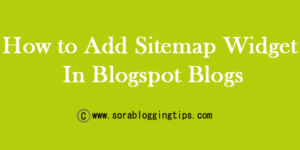 Sitemap Is The Most Essential Thing Which Every Blogger Should Add In His Her Blog Its Not Just A Page But Helps Lot To Reduce Bounce Rate Immediately By
