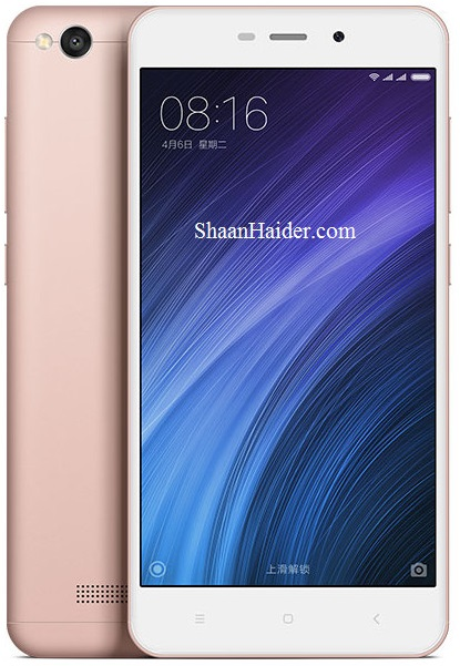 Xiaomi Redmi 4A : Full Hardware Specs, Features, Price and Availability