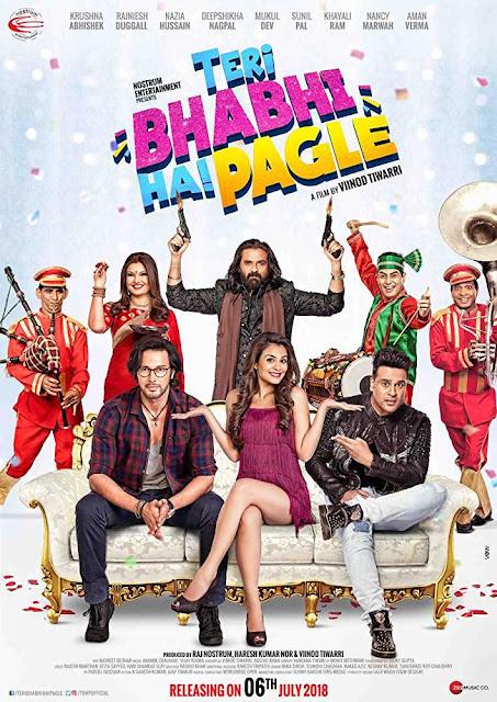 Teri Bhabhi Hai Pagle 2018 Hindi 720p HDRip 850MB