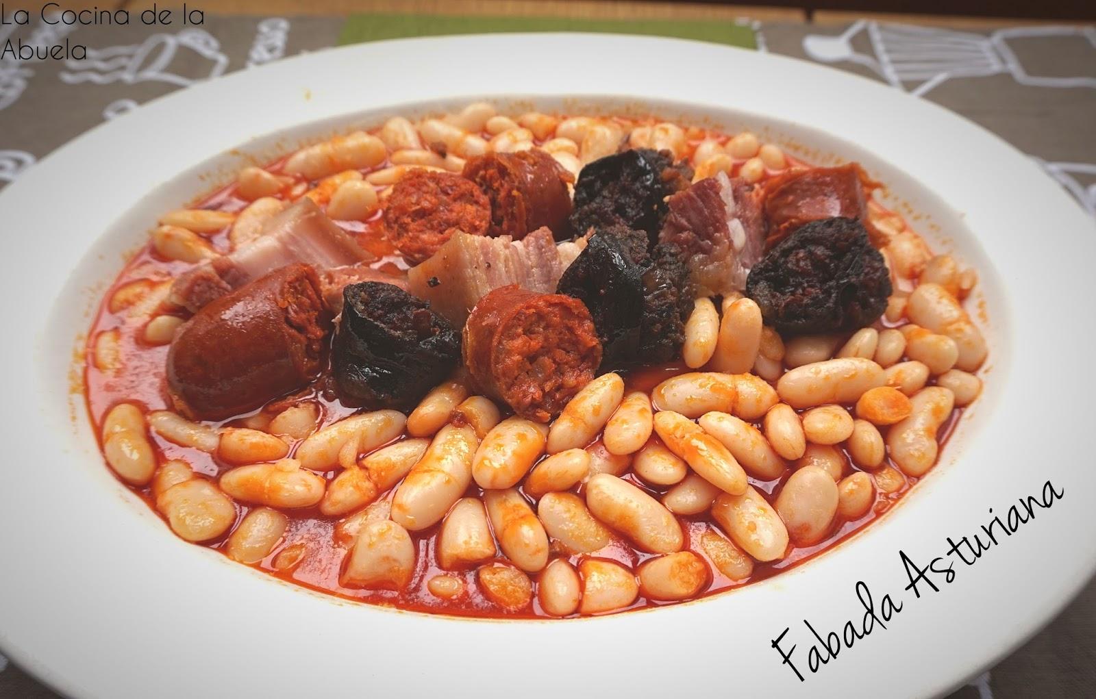 Fabada asturiana con solo 4 ingredientes la cocina de - La cocina dela abuela ...