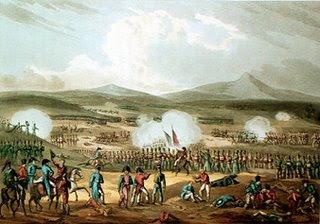 Batalla de Fuentes de Oñoro - 5 de Mayo de 1811. W. Heath delt. T. Sutherland sculpt.