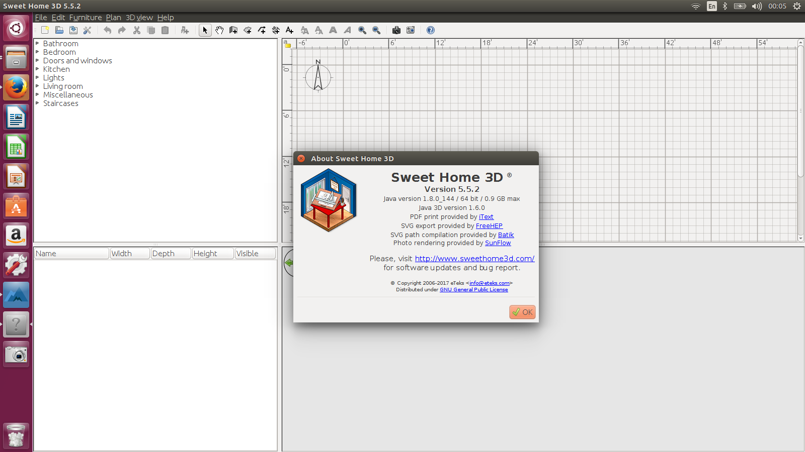 Sweet Home 3d How To Install Program On Ubuntu How To Install Sweet Home 3d 5 5