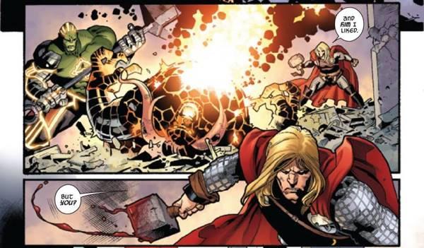 lebih kuat thor atau hulk avengers terkuat