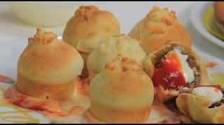 طريقة عمل خبز بالكفتة والجبنة الموتزاريلا مع نجلاء الشرشابي في علي قد الأيد