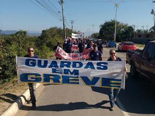 Guarda Municipal de Macaé, (RJ), entra em greve e faz ato nesta terça-feira