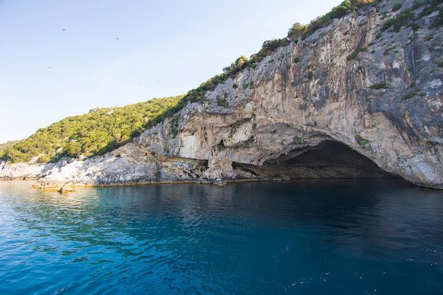 Grotta Papanicolis-Crociera a Lefkada da Nidri
