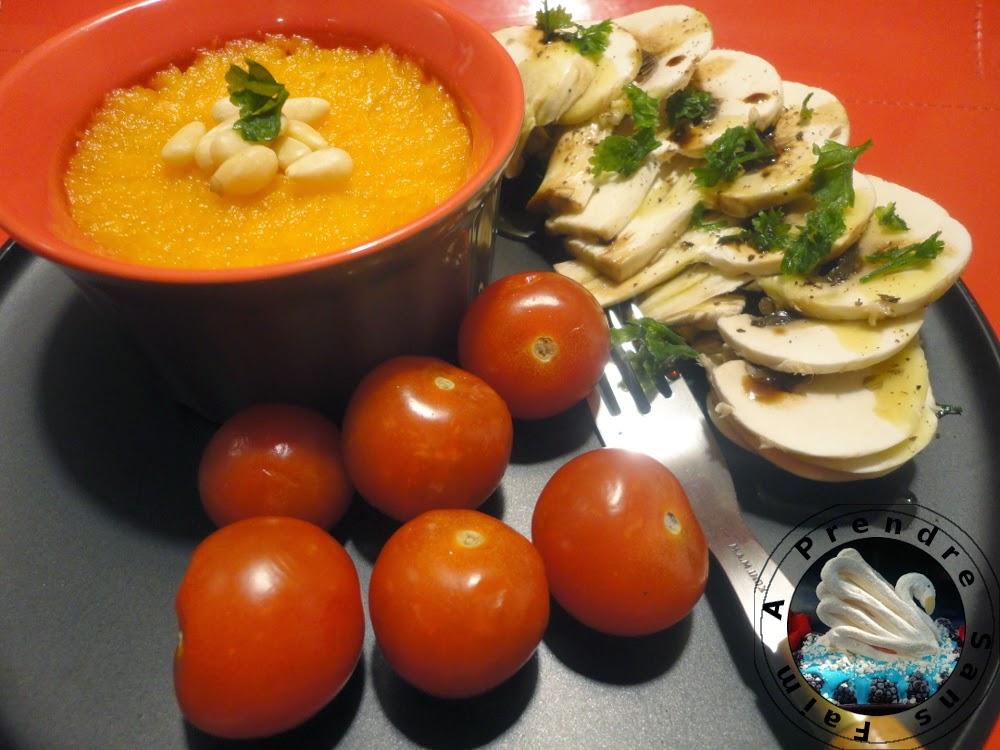 Purée de carottes coco et cumin