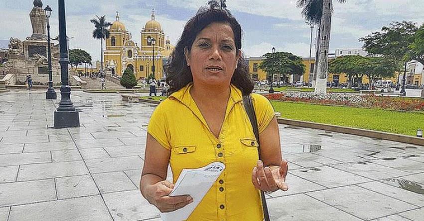 El incremento de 100 soles es una burla más del gobierno, sostiene Lourdes Vásquez Vásquez, secretaria general SSUTEP La Libertad