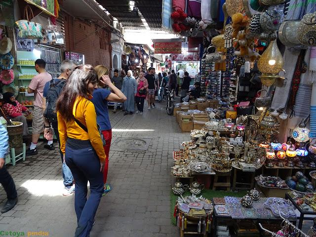 En los zocos de Marrakech