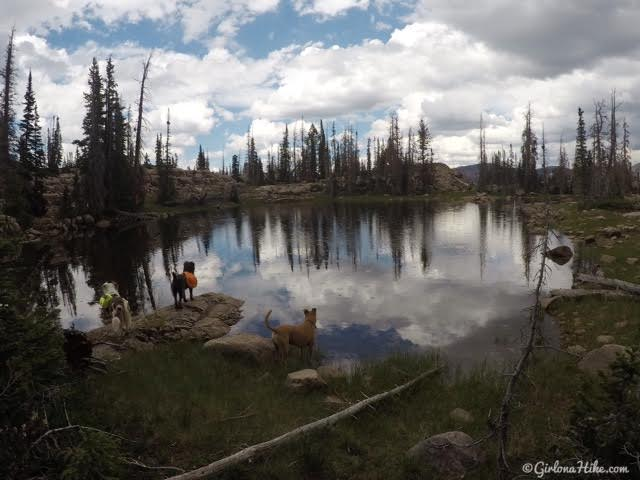 Backpacking to Ibantik Lake, Uintas