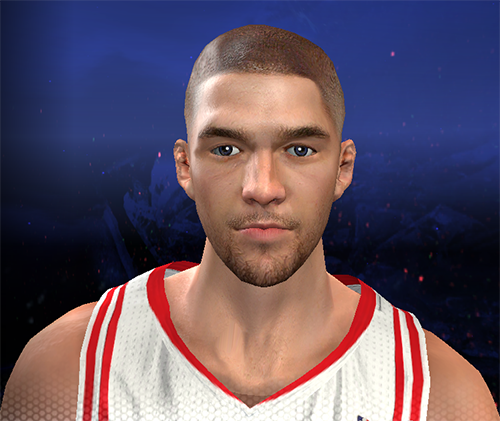 NBA 2K14 Chandler Parsons Bald Cyberface Mod
