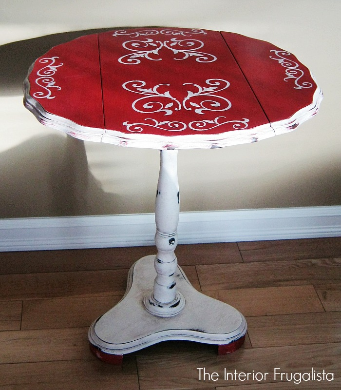 Curbside Tilt Top Drop Leaf Table