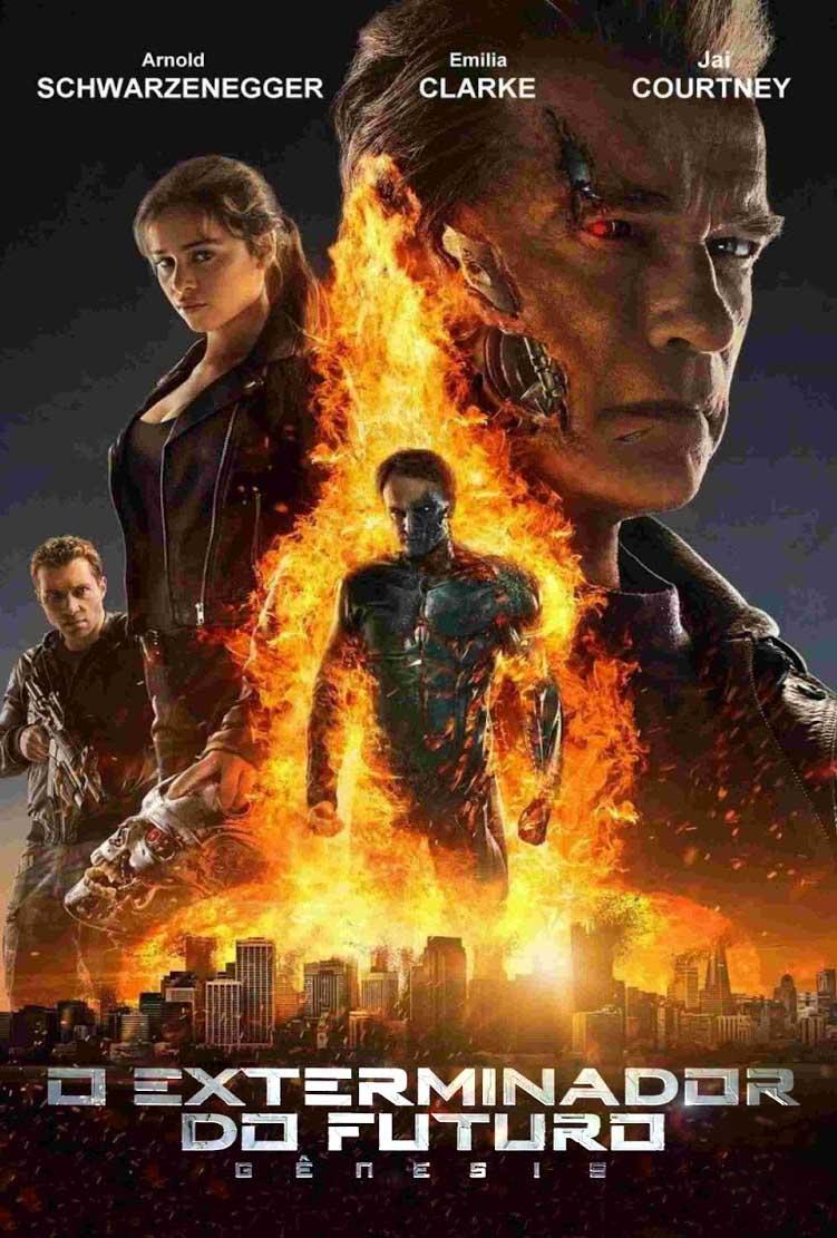O Exterminador do Futuro: Gênesis Torrent - Blu-ray Rip 1080p 3D Dual Áudio (2015)