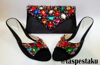 Sepatu dan Tas Pesta Mewah Elegant