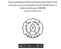 Download Skripsi Keguruan Dan Ilmu Pendidikan – Upaya Meningkatkan Kualitas Pembelajaran Ppkn Smp