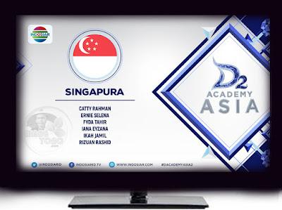 Catty Rahman, Ernie Selena,Fyda Tahir, Iana Eyzana, Ikah Jamil, dan Rizuan Rashid.