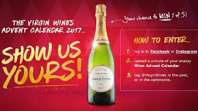 Virgin Wines Advent Calendar.Donline S Blog Another Compo Win A Bottle Of Laurent Perrier