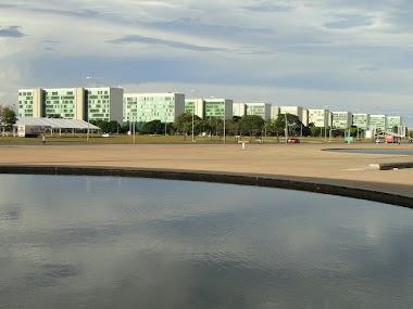 Esplanada dos Ministérios em Brasília Capital Federal