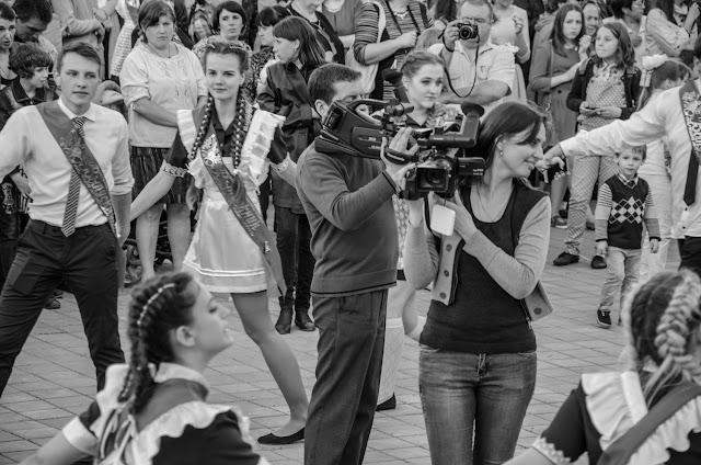 видеосъёмка в Первомайском в разгаре