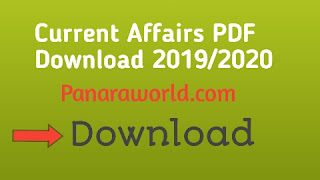 Current Affairs PDF Download