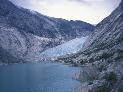 glaciar Nigards en 2003