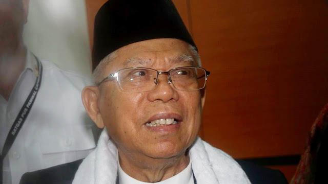 Ma'ruf Amin Tak Akan Minta Maaf soal Pernyataan Buta dan Tuli