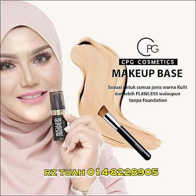 cik puan gojes cpg makeup base compact powder
