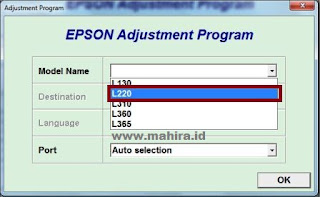 Instruction Reset Epson Printers With Image