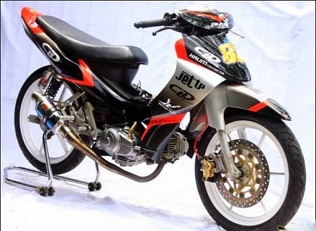modifikasi drag jupiter