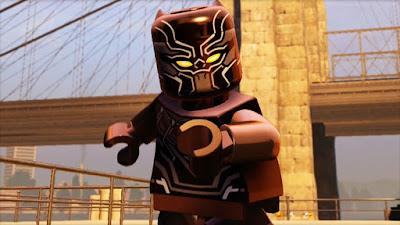 Junho na Amazon Prime Video - Lego Marvel Pantera Negra