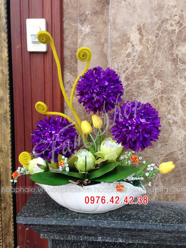 Hoa da pha le o Ngoc Khanh