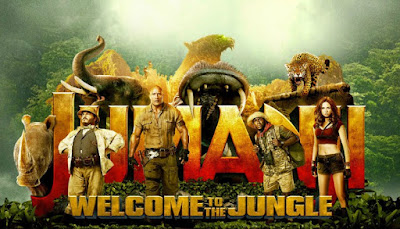 Jumanji : Welcome To The Jungle, Filem, Movie, English Movie, Poster, Pelakon Jumanji : Welcome To The Jungle, Jumanji Cast (2017), Dwayne Johnson, Jack Black, Kevin Hart, Karen Gillan, Nick Jonas, English Movie List In March 2018,