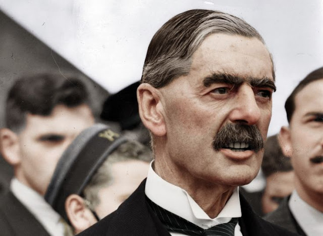 8 May 1940 worldwartwo.filminspector.com Neville Chamberlain