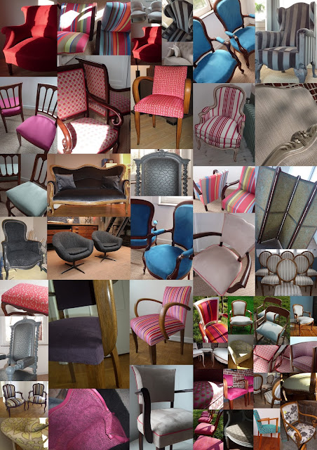 Fauteuils et chaises / Tapissier Lille Pévele