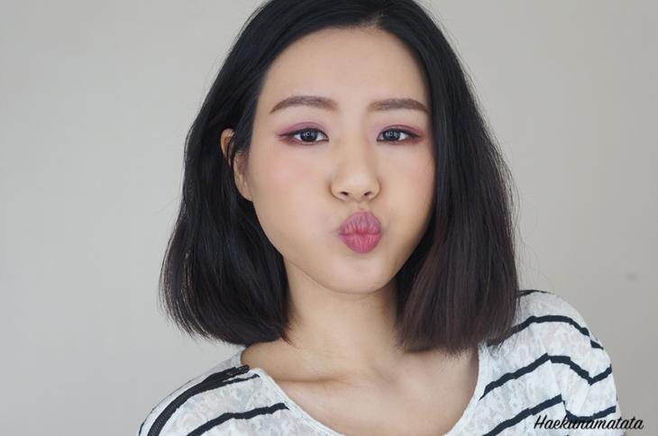 컬러팝 립스틱 발색 비교 및 리뷰 Lumiere