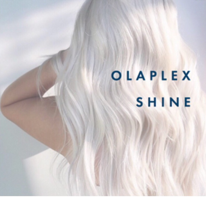 LongShiny Platinum Locks achieved using Olaplex