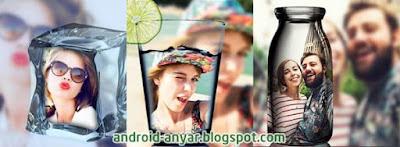 Cara Edit Manipulasi Foto di Dalam Gelas Air / Botol dengan HP Android