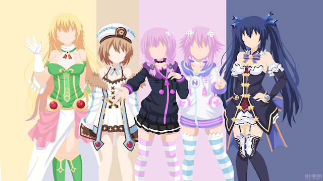 hyperdimension neptunia wallpaper