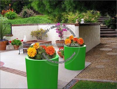 Bahçe saksıları imalatları - Bahçe saksıları fikirleri - Bahçeler için modern saksılar - Çiçeklik üretimi - Fiber saksı bahçe dizaynları - Bahçe peyzaj uygulamaları - Ctp saksılarda kaliteli tasarımları - Sınırsız renk Sınırsız model saksıcı - Saksı fiyatları ve çeşitleri